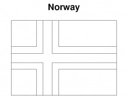 Image Gallery norway flag coloring page